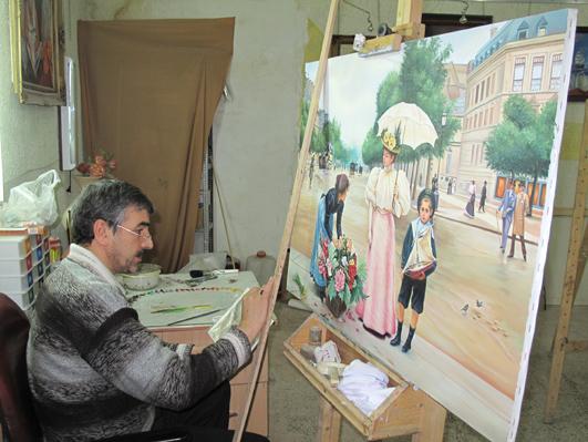 کارگاه استاد حسین خیرآبادی